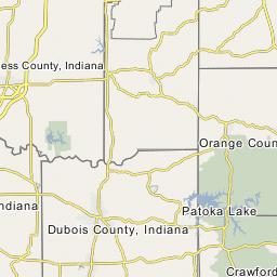 Gibson County Indiana Map.Gibson County Indiana