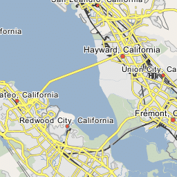 San Andreas Fault Zone Woodside California