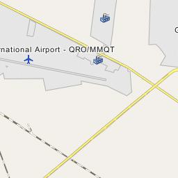 Queretaro Airport Map Queretaro International Airport   QRO/MMQT
