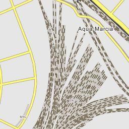 Acquedotto Acqua Marcia.Acquedotto Acqua Marcia Parte Del Percorso Urbano Roma