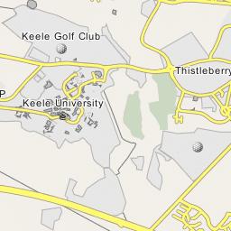 Map Of England Keele.Keele University