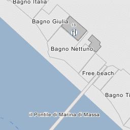 Spiaggia comunale - Marina di Massa