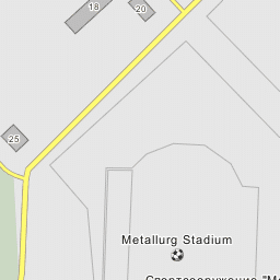 Metallurg Stadium Olmaliq - Olmaliq map