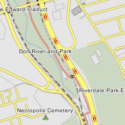 Crosstown Expressway Interchange - Toronto, Ontario on map of hwy 301, map of dulles greenway, map of indiana toll road, map of dulles toll road, map of suncoast parkway,